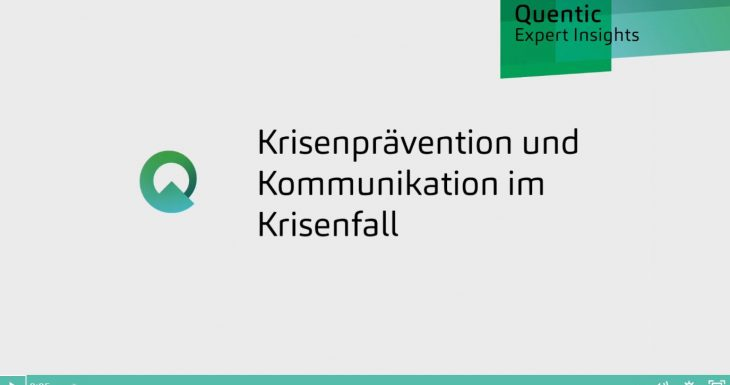 Krisenprävention